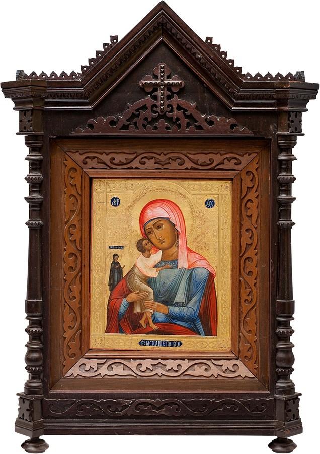 Образ Пресвятой Богородицы Взыскание Погибшим, антиквариат