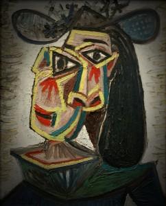 "Пабло Пикассо ""Голова женщины (Плачущая Дора Маар)"""