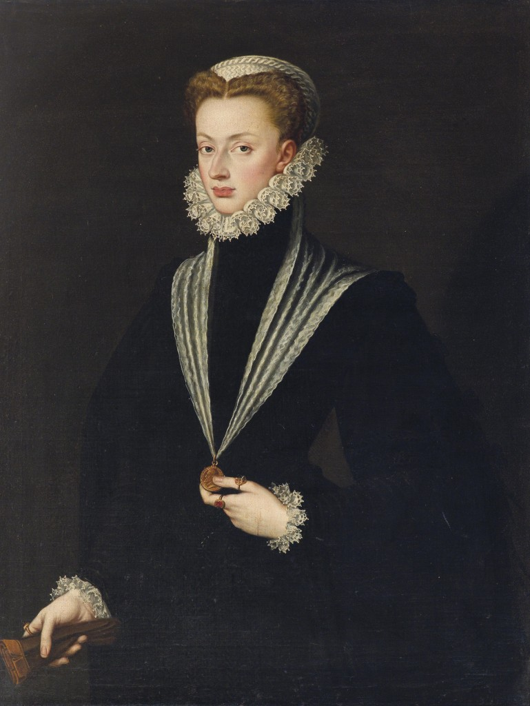 Sofonisba Anguissola (ca. 1535 - 1625), Portrait of Archduchess Johanna of Austria, realized price € 283.300, Аукционный дом Доротеум