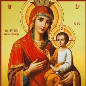 Чудотворная икона Богородицы Владимирская