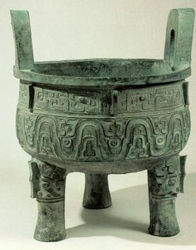 Старая бронза, Китай