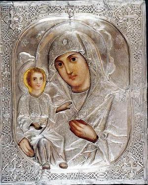 Икона Пресвятой Богородицы Одигитрия Макарьевская