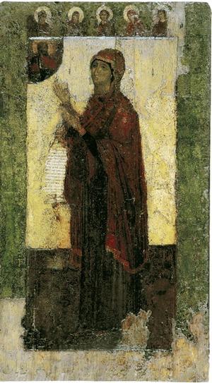 Икона Богоматери Боголюбская (Боголюбивая)