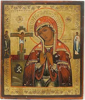 История русских икон. Икона Богородицы Ахтырская