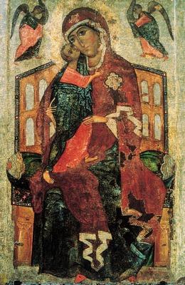 Толгская старинная икона Богоматери