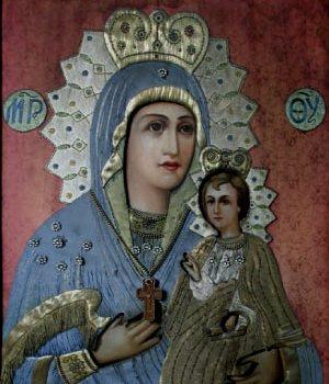 Старинная Тобольская икона Богородицы