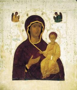 Русская икона. Смоленская икона Божией Матери. Дионисий, 1482 год