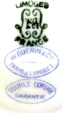 Старинный лиможский фарфор